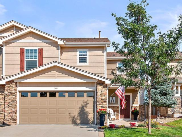 5647 Raleigh Circle, Castle Rock, CO 80104 (#6374865) :: The City and Mountains Group