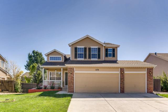 1278 N Burlington Drive, Castle Rock, CO 80104 (#6375106) :: The Peak Properties Group
