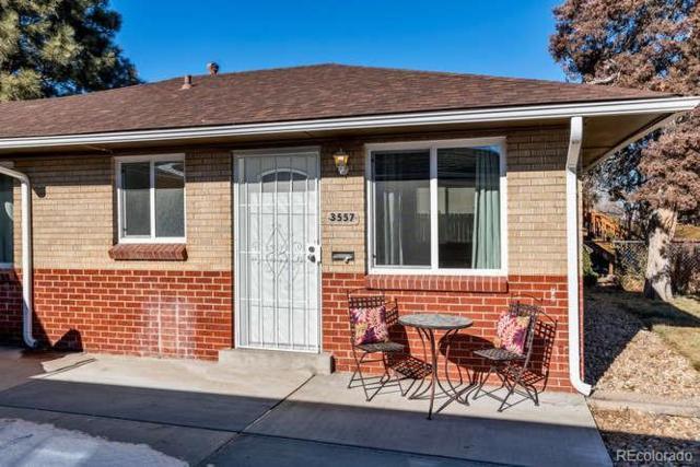 3557 Leyden Street, Denver, CO 80207 (#6376237) :: House Hunters Colorado