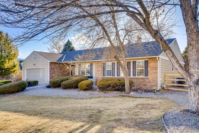 7831 Sangre De Cristo Road, Littleton, CO 80127 (MLS #6377355) :: Keller Williams Realty