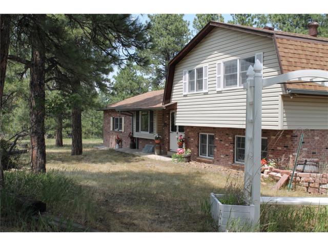 2760 Ponderosa Road, Franktown, CO 80116 (MLS #6384446) :: 8z Real Estate