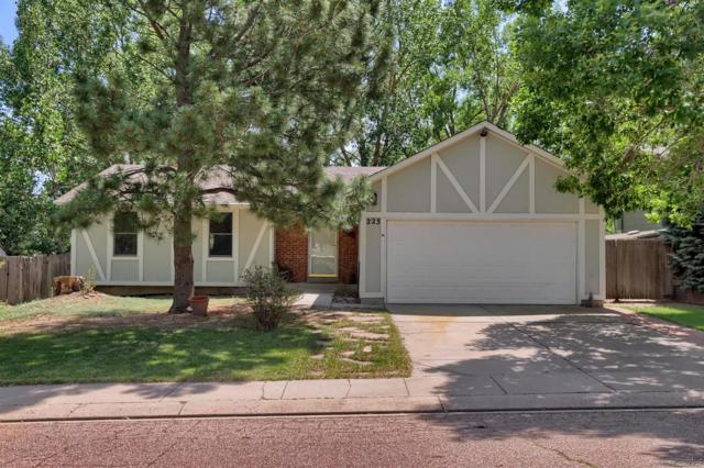 223 Saddlemountain Road, Colorado Springs, CO 80919 (#6386876) :: The Heyl Group at Keller Williams