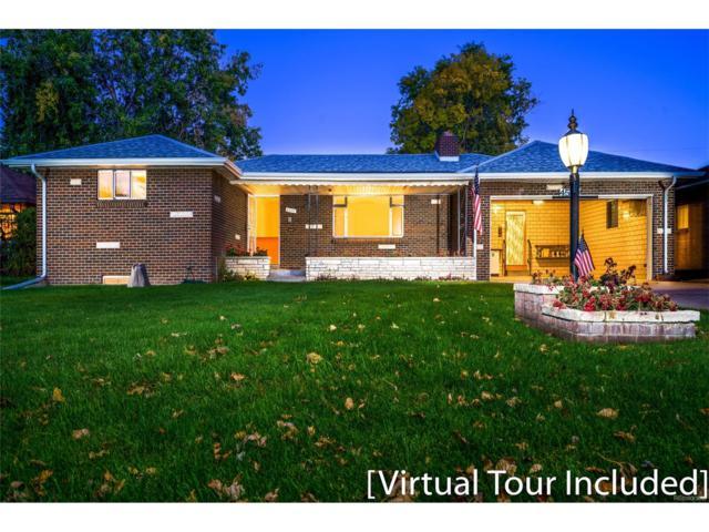 4530 Teller Street, Wheat Ridge, CO 80033 (#6387775) :: Ford and Associates