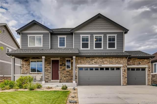 7168 S Patsburg Way, Aurora, CO 80016 (#6388996) :: Peak Properties Group