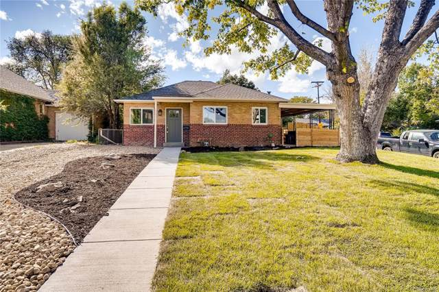 2601 S York Street, Denver, CO 80210 (#6389991) :: The Peak Properties Group