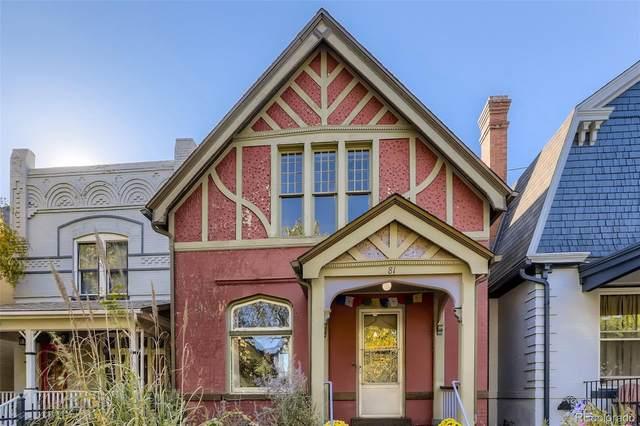 81 N Sherman Street, Denver, CO 80203 (#6392034) :: Springs Home Team @ Keller Williams Partners