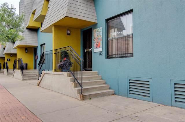 142 W 11th Avenue, Denver, CO 80204 (#6394762) :: The DeGrood Team