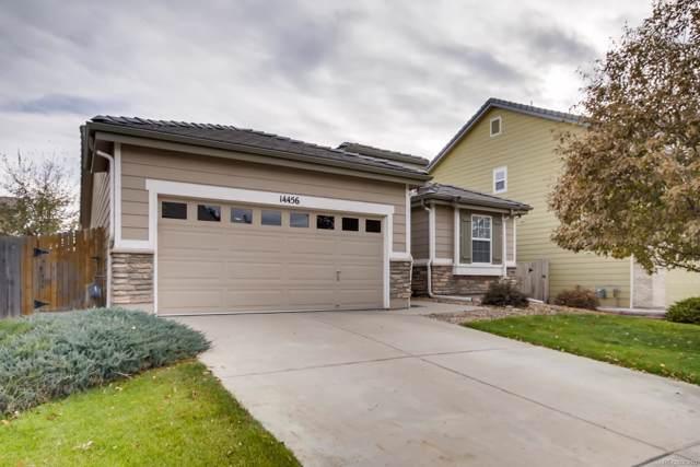 14456 E 101st Avenue, Commerce City, CO 80022 (MLS #6397379) :: 8z Real Estate