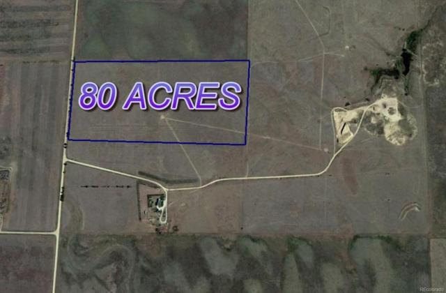 80 Acres Lincoln County, Hugo, CO 80821 (#6397942) :: The Galo Garrido Group