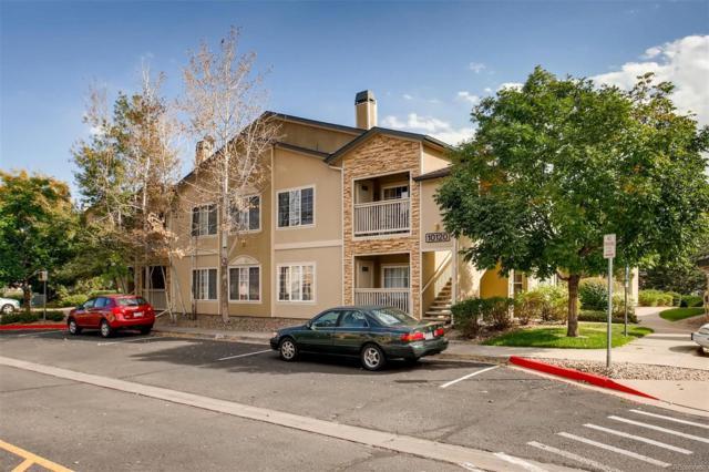 10120 E Carolina Drive #201, Denver, CO 80247 (#6398925) :: My Home Team