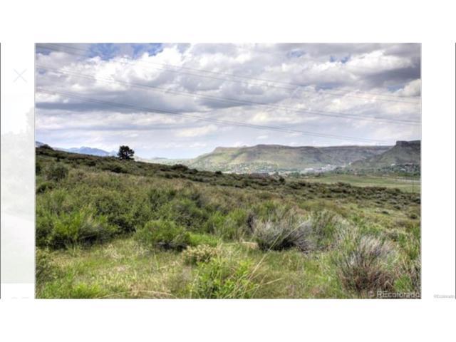 845 Marston Trail, Golden, CO 80401 (#6403447) :: The Galo Garrido Group