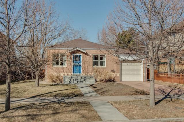 1641 S Corona Street, Denver, CO 80210 (#6404345) :: RE/MAX Professionals