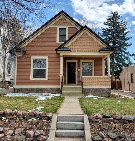 815 N Cedar Street, Colorado Springs, CO 80903 (#6407833) :: Venterra Real Estate LLC