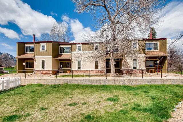 919 W Moorhead Circle B, Boulder, CO 80305 (#6408750) :: Mile High Luxury Real Estate