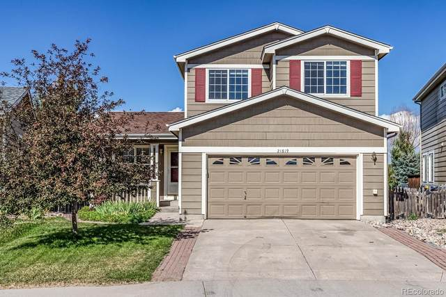 21819 Silver Meadow Circle, Parker, CO 80138 (#6410875) :: The Gilbert Group