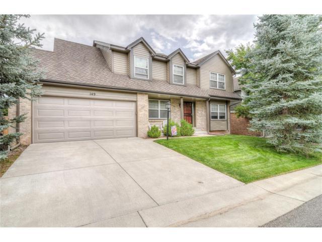 149 Willowleaf Drive, Littleton, CO 80127 (MLS #6412030) :: 8z Real Estate