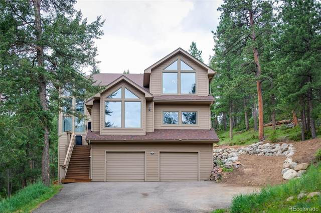 7102 Pinewood Drive, Evergreen, CO 80439 (#6417848) :: The Colorado Foothills Team | Berkshire Hathaway Elevated Living Real Estate