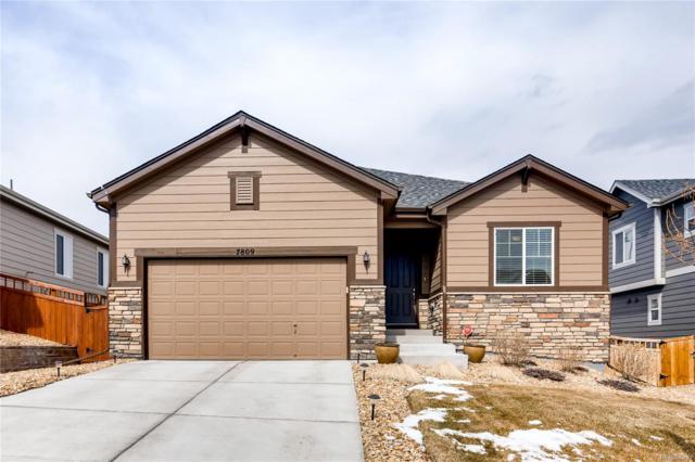 7809 Bandit Drive, Castle Rock, CO 80108 (#6419096) :: Bring Home Denver
