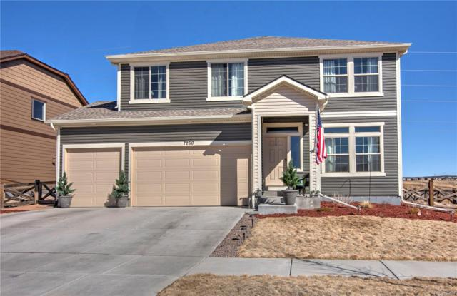 7260 Mountain Spruce Drive, Colorado Springs, CO 80927 (#6422121) :: The Galo Garrido Group