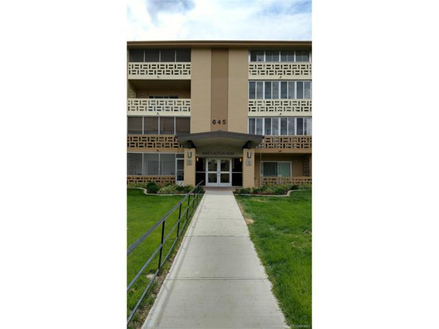 645 S Alton Way 6D, Denver, CO 80247 (MLS #6423561) :: 8z Real Estate
