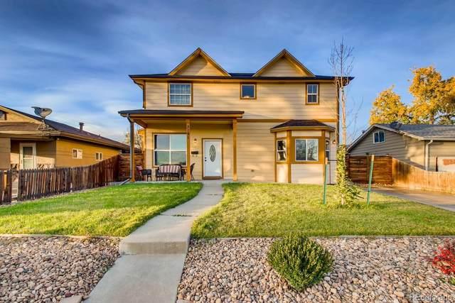 3191 W 65th Avenue, Denver, CO 80221 (#6423744) :: The HomeSmiths Team - Keller Williams