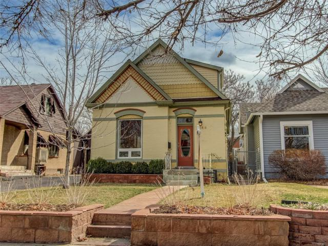 2544 N Gilpin Street, Denver, CO 80205 (#6424791) :: The Peak Properties Group