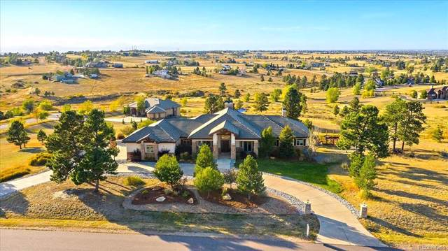 11705 Dunmark Road, Parker, CO 80138 (#6426342) :: The Healey Group