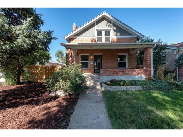 2653 Jasmine Street, Denver, CO 80207 (#6433665) :: The City and Mountains Group