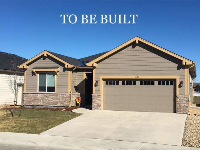 867 Shirttail Peak Drive, Windsor, CO 80550 (MLS #6436233) :: Bliss Realty Group