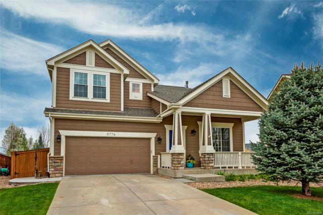 9776 Cheewall Lane, Parker, CO 80134 (#6447752) :: The Griffith Home Team