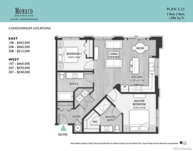 155 S Monaco Parkway #307, Denver, CO 80224 (#6453511) :: The Peak Properties Group