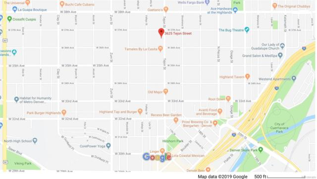 3625 N Tejon Street, Denver, CO 80211 (#6454128) :: Mile High Luxury Real Estate