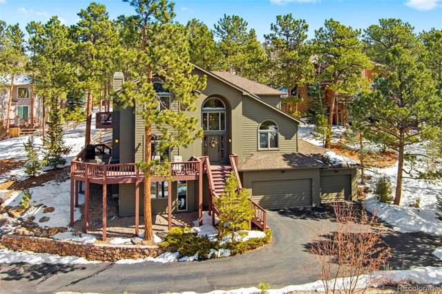 1376 Gold Mine Lane, Evergreen, CO 80439 (MLS #6454441) :: The Sam Biller Home Team