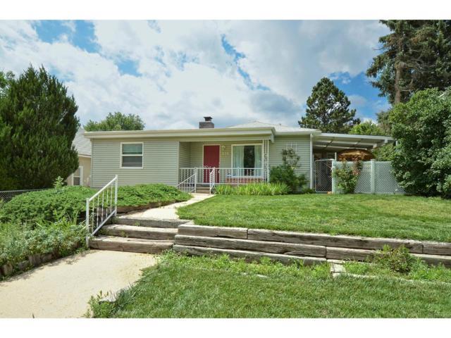 826 Sunset Road, Colorado Springs, CO 80909 (MLS #6454883) :: 8z Real Estate