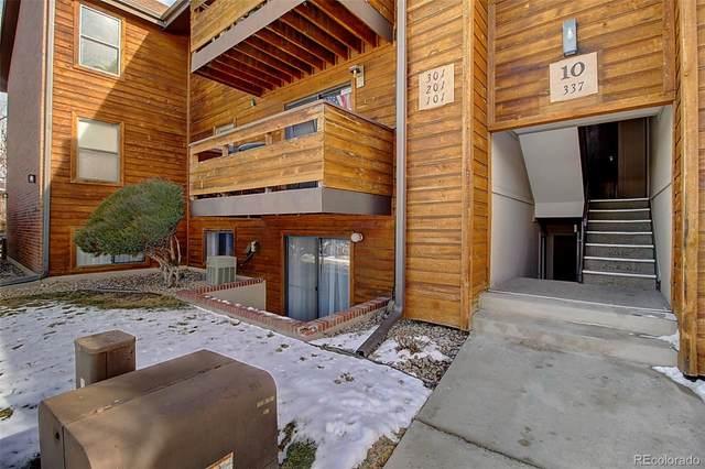 337 Wright Street #101, Lakewood, CO 80228 (#6457420) :: James Crocker Team