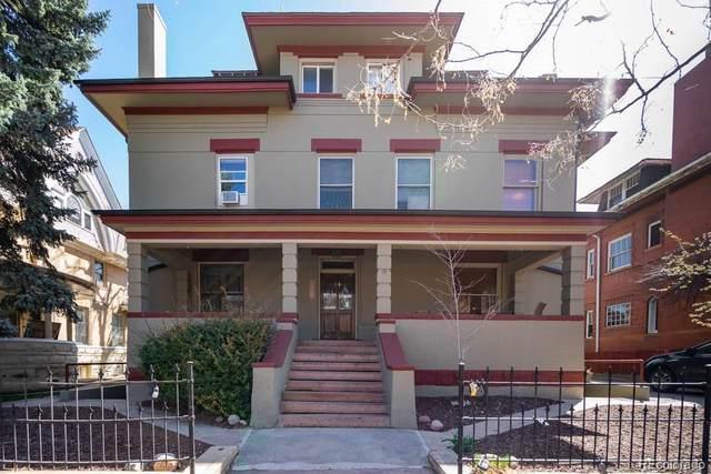 1450 N High Street #6, Denver, CO 80218 (#6458685) :: Arnie Stein Team | RE/MAX Masters Millennium