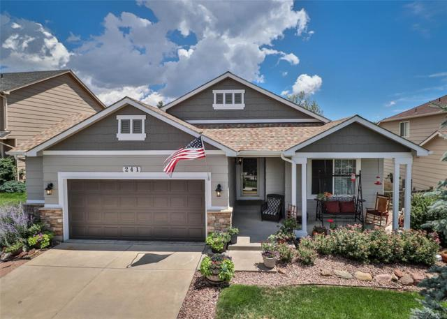 241 Talus Road, Monument, CO 80132 (#6459792) :: The DeGrood Team