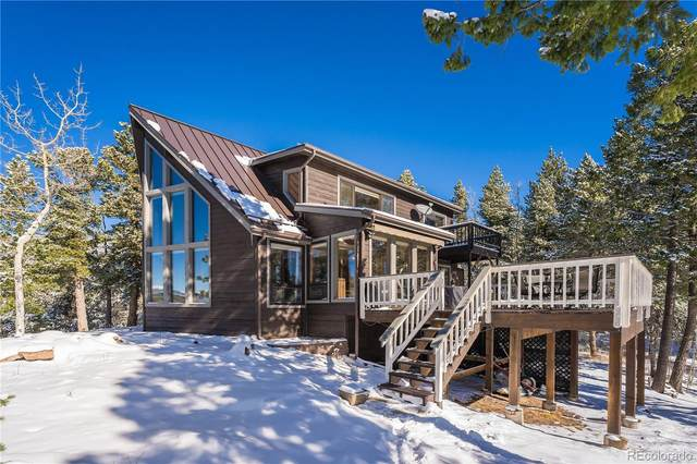 10965 Elizabeth Drive, Conifer, CO 80433 (MLS #6463471) :: 8z Real Estate