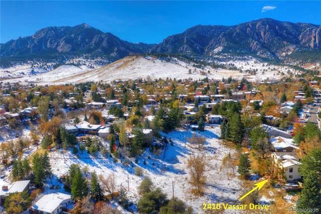 2410 Vassar Drive, Boulder, CO 80305 (#6470670) :: The Healey Group