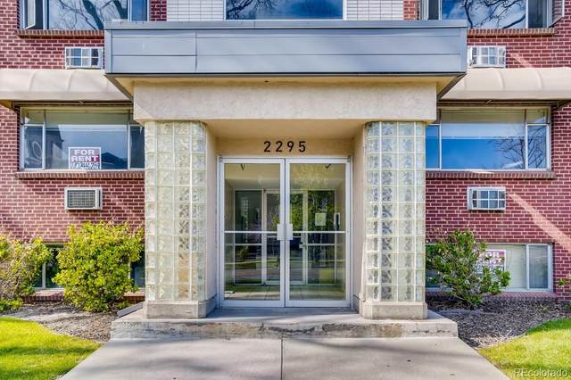 2295 E Asbury Avenue #207, Denver, CO 80210 (#6477857) :: The Gilbert Group