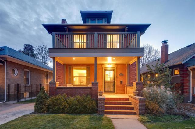 357 S Downing Street, Denver, CO 80209 (#6481148) :: The Heyl Group at Keller Williams