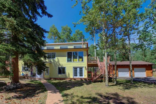 31558 Conifer Mountain Drive, Conifer, CO 80433 (MLS #6483990) :: 8z Real Estate