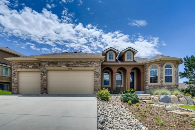 705 Black Arrow Drive, Colorado Springs, CO 80921 (MLS #6485286) :: 8z Real Estate
