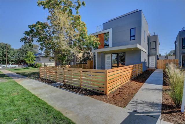 2120 S Lincoln Street, Denver, CO 80210 (#6486057) :: The Peak Properties Group
