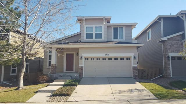 2916 Woodbriar Drive, Highlands Ranch, CO 80126 (#6487336) :: The Pete Cook Home Group
