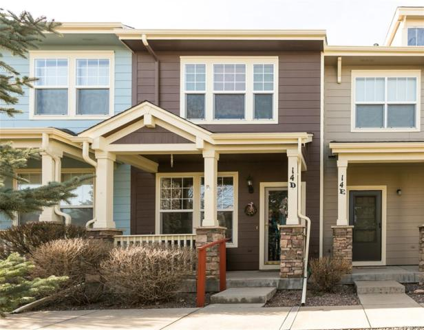 15612 E 96th Way 14D, Commerce City, CO 80022 (#6491620) :: The Peak Properties Group