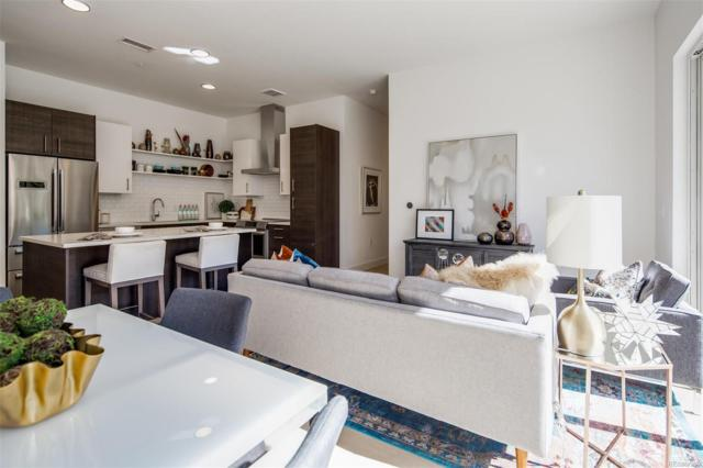 2530 Lawrence Street #206, Denver, CO 80205 (#6495255) :: The Griffith Home Team