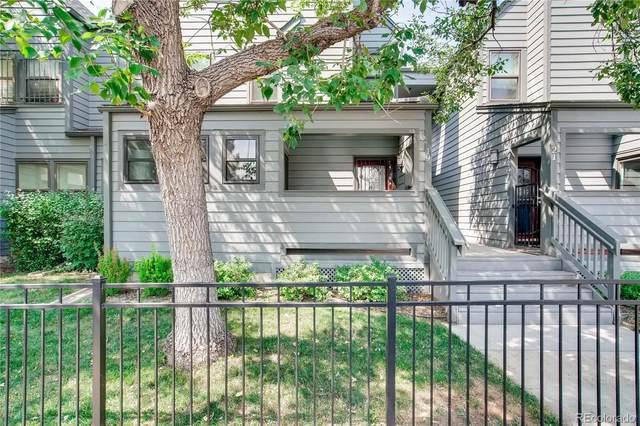 11 W Ellsworth Avenue #19, Denver, CO 80223 (#6496267) :: My Home Team