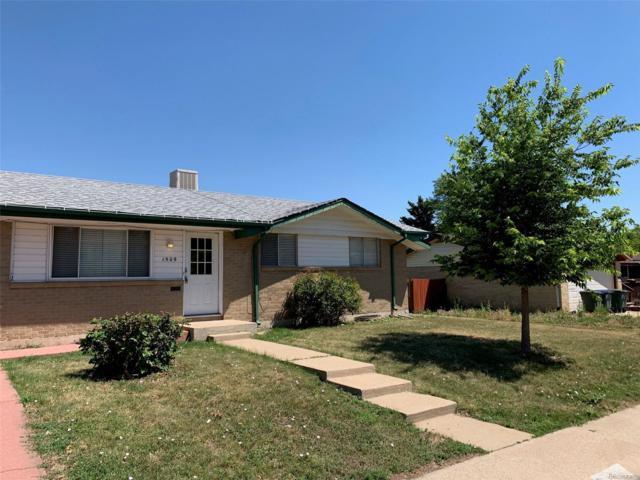 1509 W 102nd Avenue, Northglenn, CO 80260 (MLS #6496638) :: 8z Real Estate