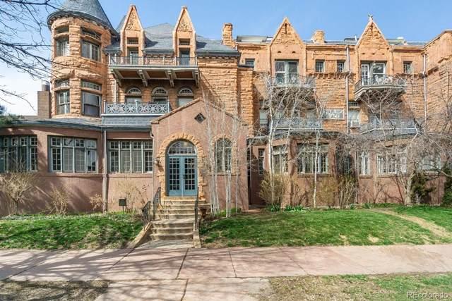 1421 N Pennsylvania Street #28, Denver, CO 80203 (#6499796) :: Wisdom Real Estate
